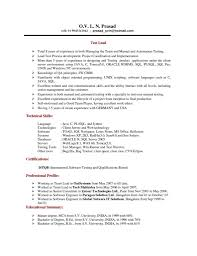 Resume Cv Sample Software Developer India Template Free Oracle Dba