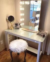 vanities lighted mirror makeup vanity table girl hollywood gallery