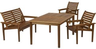 crate barrel outdoor furniture. Mendocino 4-Piece Table/Bench/Arm Chairs Set Crate \u0026 Barrel Outdoor Furniture
