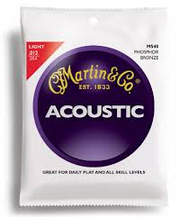 martin phosphor bronze acoustic guitar strings