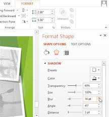 screenshot of powerpoint 2016