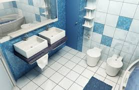 Small Blue Bathrooms Blue And White Bathroom Tile Ideas Yes Yes Go