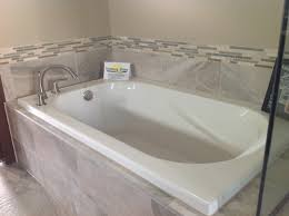 Drop-in tub with gray tile | Coastal Crap | Pinterest | Grey tiles ...