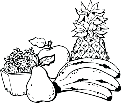 Fruit Coloring Pages To Print Printable Fruit Coloring Pages Fruit