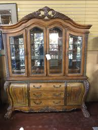 Michael Amini Rococo China Cabinet | Consignment Furniture Depot
