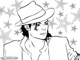 Michael Jackson Coloring Sheets Free Billie Jean Pages Thriller Page