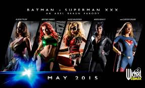 AVN Wicked Releases Two Free Batman v Superman XXX Wallpapers Both.