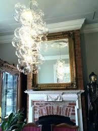 bubble glass light fixtures doubtful lighting chandeliers ball chandelier fixture bathroom interior design 26