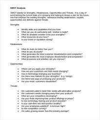 Swot Analysis Essay Examples Sample Swot Analysis Essay 416731585007 Example Of A Swot