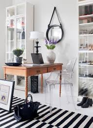 best flooring for home office. Home Office Bohemian Style Small Apartment Work Table Black And White Cotton Carpet Feminine All Best Flooring For