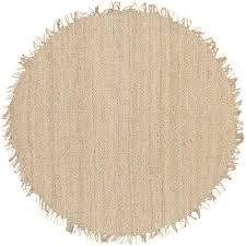 powerful 8ft round rug artistic weavers wisner bleach jute 8 ft x area