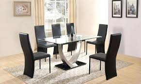 glass dining table and chairs 6 chair dining table set dining table ideas dining glass dining table and chairs
