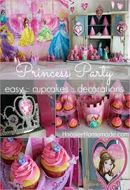 Princess Ball Decorations New Princess Party Cupcakes And Decorations Hoosier Homemade