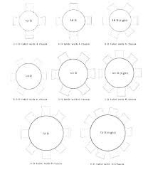 6 ft round tables 8 foot table seating how big is a round table that seats 6 ft