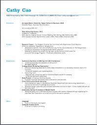Resume Design Yiqun Cao