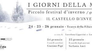 """Macerata, Festival d'inverno """"I giorni della merla"""" 2020"""
