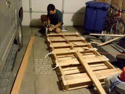 i thought to build a pallet bed for my daughter s room that does need a bed to be changed now because she is growing up here are some instructions which i