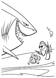 Finding Nemo To Download For Free Finding Nemo Kids Coloring Pages