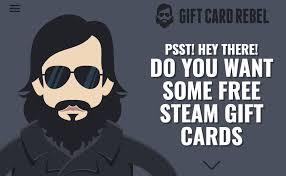 free steam gift card gift card rebel fake