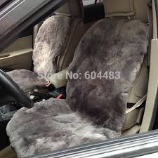 sheepskin car seat covers gray patchwork skin not cap seat cover auto seat cover for car baby seat from sheepskinking 100 41 dhgate com
