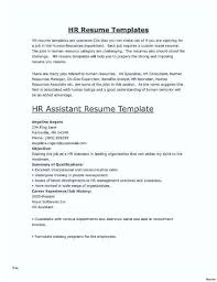 Human Resources Assistant Resume Examples Hr Resume Template Guaranteedproduct Info