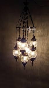 outdoor alluring glass bulb chandelier 3 vanity lighting home mosaic turkish lamps unique hanging lamp pendant