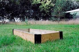 box garden. Interesting Garden Large Corner Brackets Raised Bed Bedding Vegetable Planet Box Garden X 4   Black In E