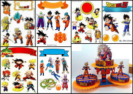 Dragon Ball Z Free Printable Cake And Cupcake Toppers Oh My