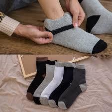 5 pairs warm <b>socks autumn winter</b> new cotton <b>men's</b> plus velvet ...