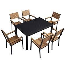 coastal 0 5cbm dining table chairs