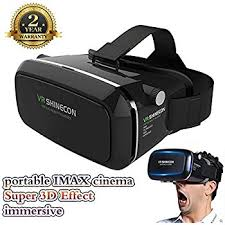 iphone vr headset. vr headset 3d glasses 360° viewing immersive virtual reality for movies video iphone vr i