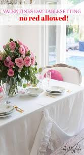 simple valentine day table decorations