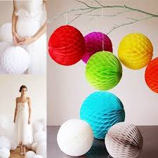 How To Make Hanging Paper Ball Decorations Custom Promotion Wedding Decoration 32pcs 32''232cm Tissue Paper Balls