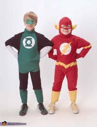 the brave and the bold the flash and green lantern superheroes costume