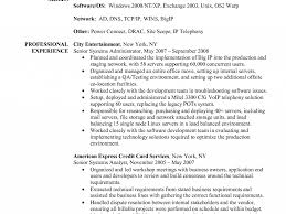 Download Server Administration Sample Resume