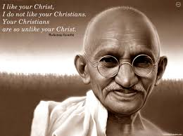 Gandhi Christian Quote