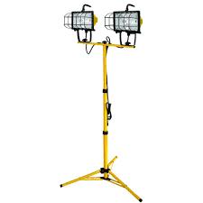 500 Watt Halogen Work Light Lumens Voltec 1000 Watt Halogen Tripod Work Light