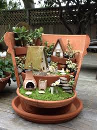 fairy garden pots. We All Have Encountered Broken Pots Into Our Gardens. Fairy Garden R