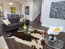 pictures gallery of cowhide rug living room share