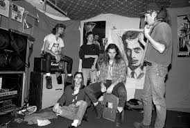 basement band.  Band From Left Jeff Ament Mike McCready Dave Krusen Eddie Vedder And Stone Throughout Basement Band