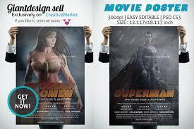 Movie Flyer Movie Poster Flyer Templates Creative Market 23