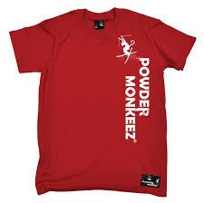 Vertical T Shirt Design Pm Vertical Design Mens Powder Monkeez T Shirt Birthday Gift Skiing Snowboarding Mens T Shirt Cool Tshirt Designs From Friendstshirts 11 56