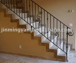 Wrought iron stair handrail Metal stair handrail,stair handrail for sale -  Price,China Manufacturer,Supplier 375190