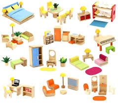 doll house furniture sets. Groovy Wooden Doll House Furniture Set Sets U