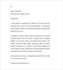 Gallery Of Sample Cover Letter Example 24 Download Free Documents