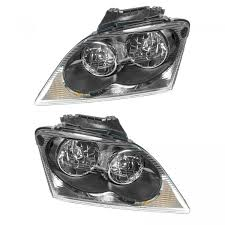 2004 Chrysler Pacifica Fog Lights Details About Headlights Headlamps Left Right Pair Set New For 04 06 Chrysler Pacifica
