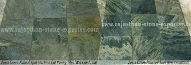 zeera green quartzite slate tiles