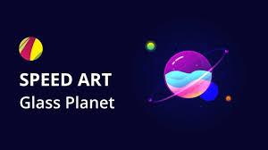 Is Gravit Designer Safe Glass Planet Speed Art Gravit Designer