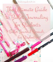 Our Journey In Journals The Ultimate Guide To Bullet Journaling For