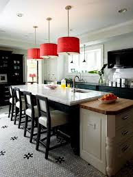 red pendant lights add color above traditional home photo colleen duffley design bob williams